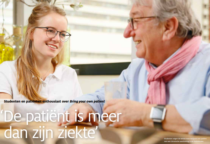 Student geneeskunde zoekt  patiënt